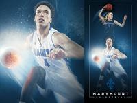 2015-16 Marymount Basketball Banner