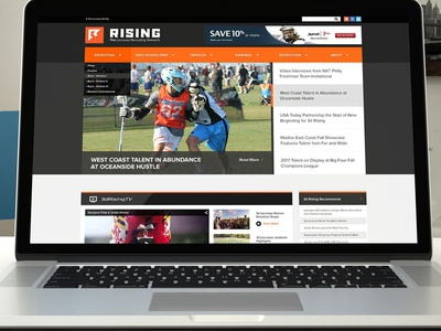 3d Rising Homepage