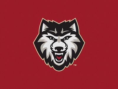 Wolf Illustration sports design sports logos illustration logo wolf