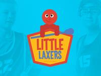 Little Laxers logo for 3d Lacrosse