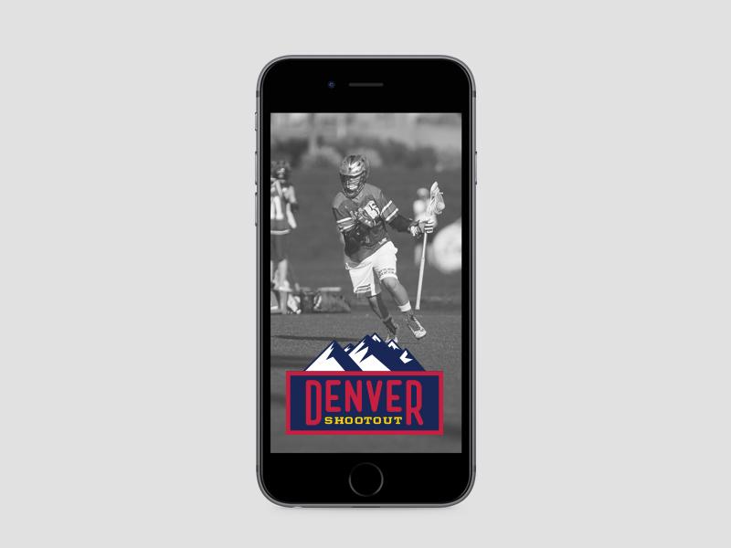 Denver shootout 2016 friday geofilter on phone