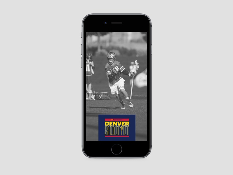 Denver shootout 2016 saturday geofilter on phone