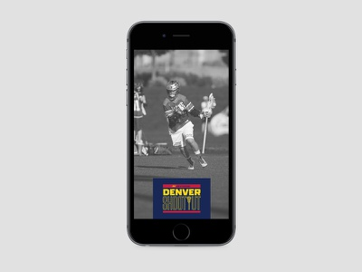 2016 Denver Shootout Snapchat Geofilter lax athletics sports lacrosse shootout denver geotag geofilter snapchat