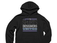 United blk hoodie