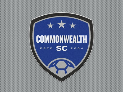 Commonwealth Soccer Club of Kentucky Crest youth sports mls starts soccer club commonwealth sports design sports logos sports branding crest futbol football soccer