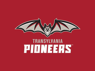 Transylvania University Athletics Identity System typography wordmarks sports branding athletics transylvania vampire bat logos sports