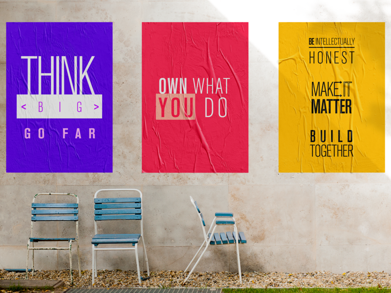 MongoDB Values concept team culture branding