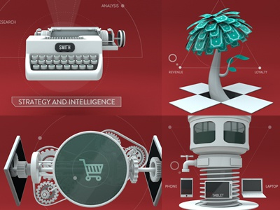 styleframes motion graphics cinema 4d 3d design icon info graphic