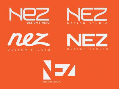 Nez Logo exploration logo branding logotype identity