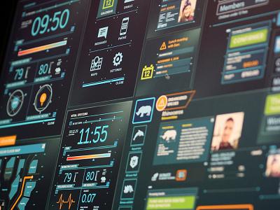 FUI personal assistance design ux fui interface ui