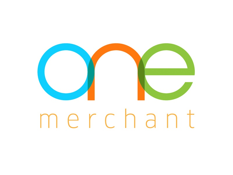 One merchant brand identity one visual design mark identity brand logo
