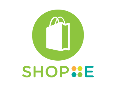 ShopE business ecommerce icon logomark identity logo brand