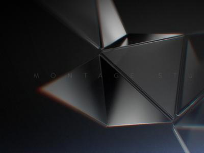 Montage Studio  intro logo animation brand identity