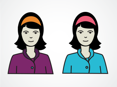 Lucy infographics graphics icons illustration character design
