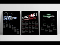 Movie poster series
