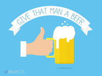 Give that man a beer