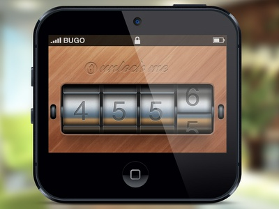 Unlock Me password lock unlock app iphone ios mockup rebound