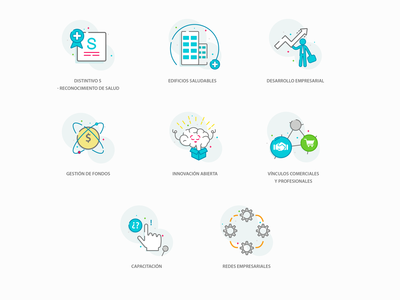 Icons Cluster