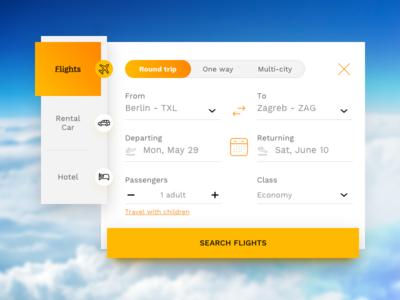 #17 flight booking ui