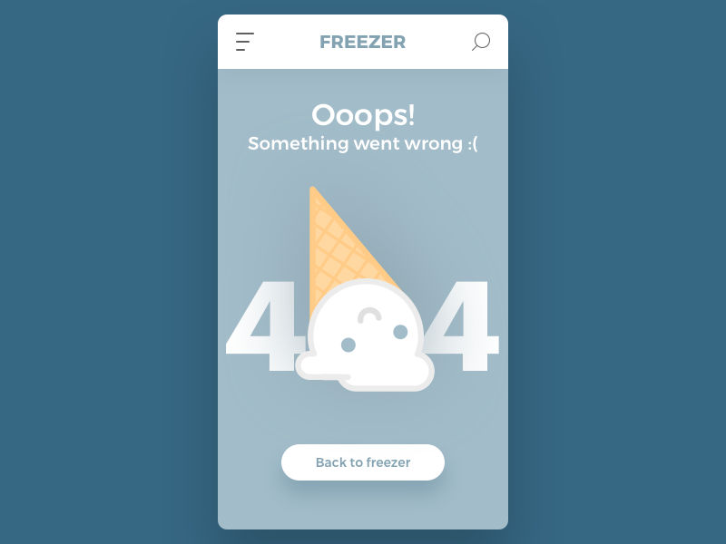 #22 icecream ui mobile 404