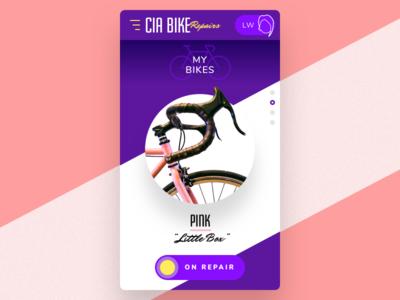 #27 repair bike mobile ui