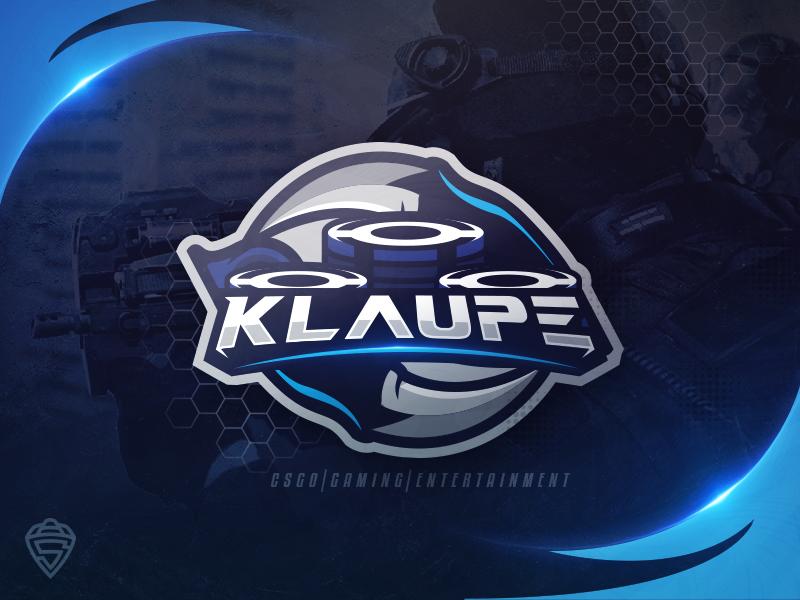 Klaupe - Youtube CS:GO logo esport sport gamble gambling illustration mascot gaming csgo karambit