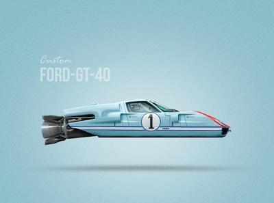 ford gt40 Custom