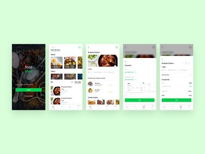 Food feed app Screen
