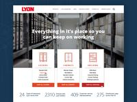 Lyon :: Homepage Option 3