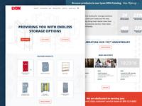 Lyon :: Homepage Option 2
