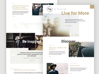 Conscious Male ::  Homepage Variation