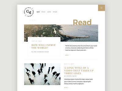 Conscious Male :: Read community collection modern wellness purpose blog lifestyle conscious ux ui web design