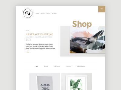 Conscious Male :: Shop community collection modern purpose lifestyle conscious store products shop ux ui web design