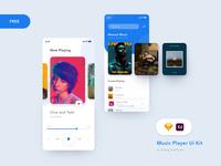 Clean Music Player - UiKit