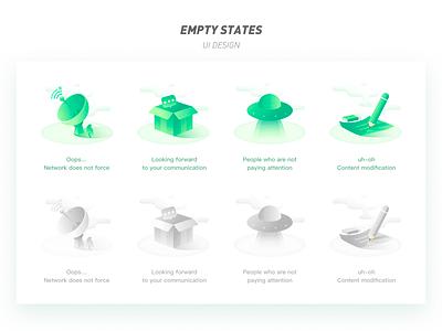 Medical app empty status page empty page app ux ui illustration icon