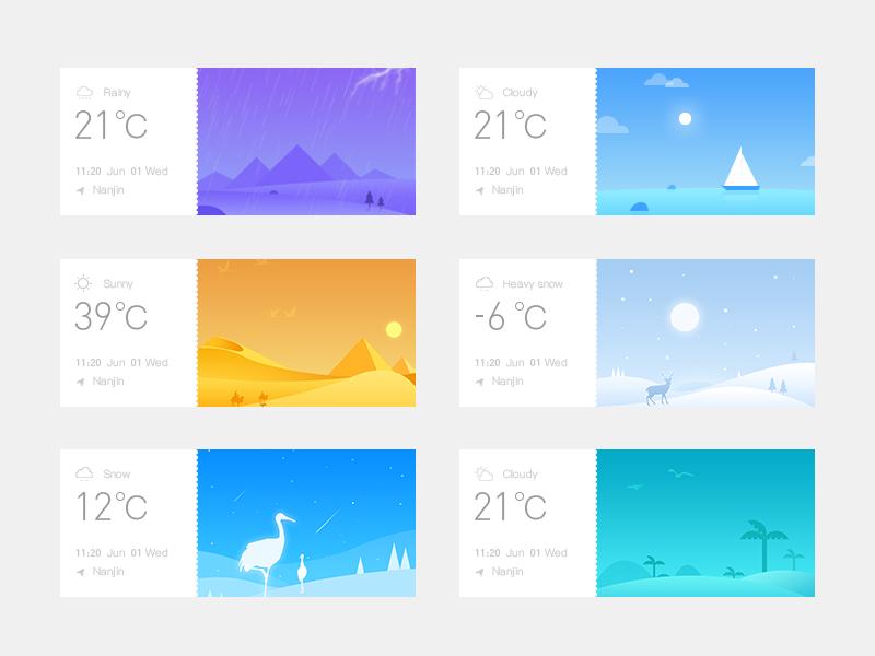 #4  Weather  iIIustrator
