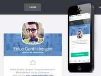 Enterprise Profile page