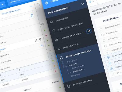 Enterprise back-end system backend cms minimal software navigation dark invoices enterprise dashboard