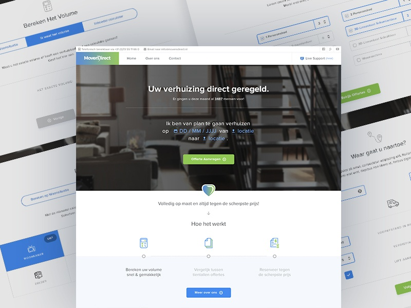 Weekly Layup #1 - Natural Language Form flat minimal guide steps ux ui landingpage wizard form natural language form