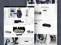 Adidas Tubular Landing Page