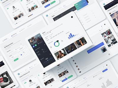 Voicey for Brands voicey filter messenger statistics ui dashboard profile marketing influencer