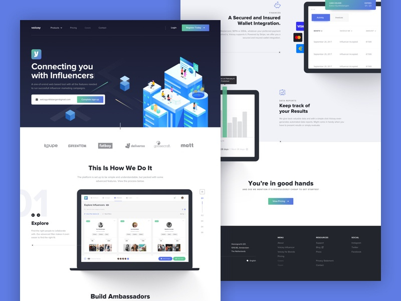Dribbble shot corporate