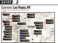 Climbing map of Las Vegas, NV