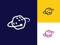 Space Casino Logo Concept