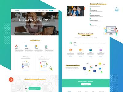 web design of adcube