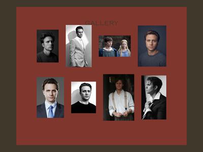 Artist Portfolio Template — Gallery Page