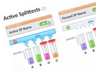 Splittests filter test split