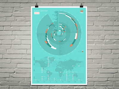 Events Calendar 2016 poster calendar events