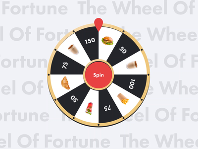 The Gas Station App: Wheel of Fortune ui app design application animation app userexperience