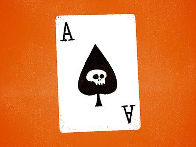 Lemmy spades ace illustration